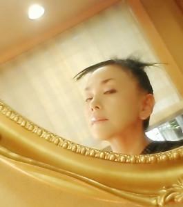 ゆかこ鏡切抜○